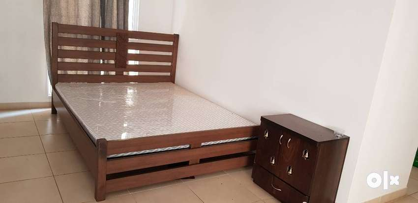 Unused Bed with new mattress available for sale 0