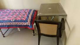 Welcome PGs for Girls & Boys  : Furnished 2BHK flat