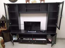 Branded engineered wood TV cabinet
