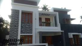 7 cent plot with 2200 sq.ft 4BHK house decentmuk