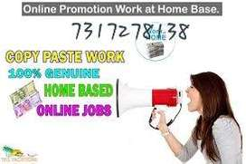 Multiple job available for home based genuine part time/full time proj