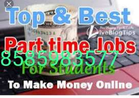 Data entry part time jobs for fresher's in