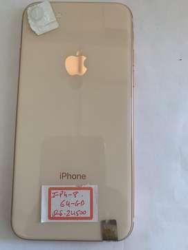 Iphone 8 64gb roge gold
