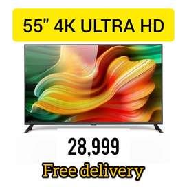 55'' SMART 4K LED TV// BRAND NEW AIWA VISION LED// AT @28999