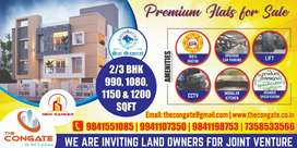 New 2 BHK Flats for sale @ Pazhavanthangal