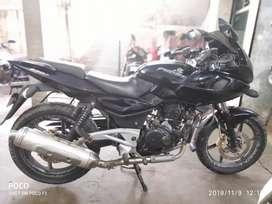 Bajaj Pulsar 220 Black colour