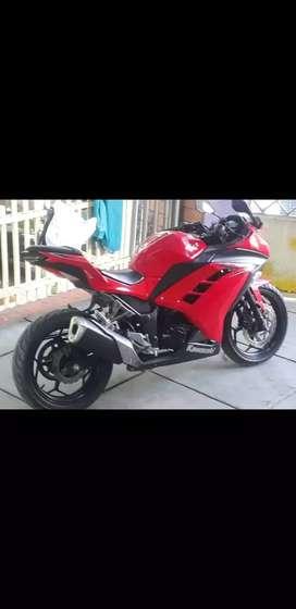 Kawasaki Ninja 250 FI Merah