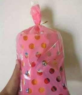 Plastik souvenir polkadot