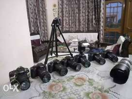 DSLRs nikon/canon on rent in chandigarh