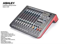 MIxer 8 channel ASHLEY Live8 Live 8 Digital Efek & USB Recording