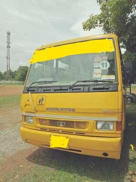 City raide school bus