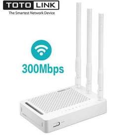 Totolink 300mbps 3 antenna WIFI Router