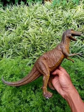 Dino figurine..bahan karet padat