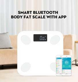 Smart Bluetooth Body Fat / Weight Machine With Mobile App