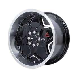 jual velg hsr wheel ring 16x7/8 h8(100/114,3) bisa kredit
