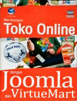 Buku toko online dengan joomla