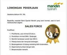 Sales Force Bank Syariah Mandiri