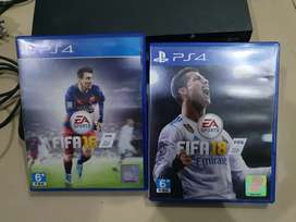 Kaset BD Fifa 16 dan Fifa 18 PS4 Normal