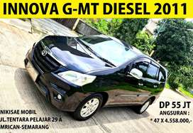 Kridit Spesial Murah Grand New Innova G/MT-DIESEL 2011-NO PR-NO Ragat