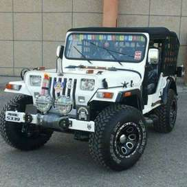 Modified open Jeeps