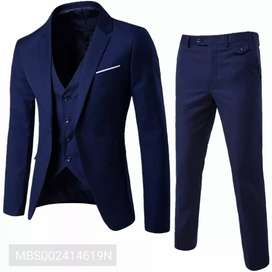 Amazing Royal Looking Three Piece Suit (Blazer)