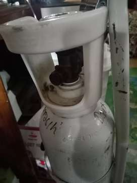 Isi ulang oksigen tabung kecil ukuran 1m3