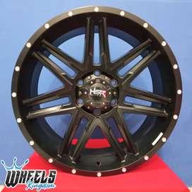 Velg Modif Pajero BULL HSR R20X9 H6X139,7 ET20 wheels kingdom surabaya