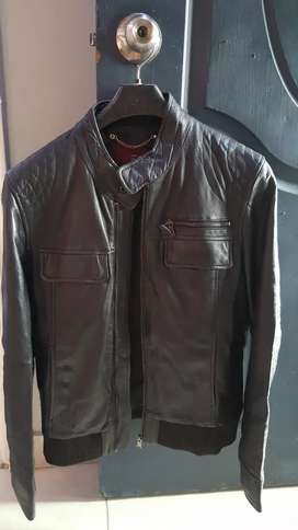 Original leather jacket of ZARA for Sale (Made in Turkey)