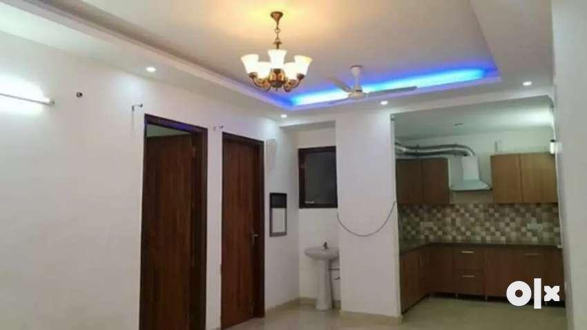 3 bhk builder floor located in saket modular kitchen 0