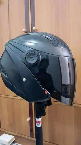 Helm zeus 610 hitam doff
