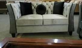 New Modern sofa set Seven Seater in imported shaineel