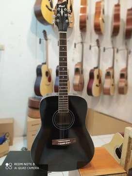 Gitar Akustik cort hitamm