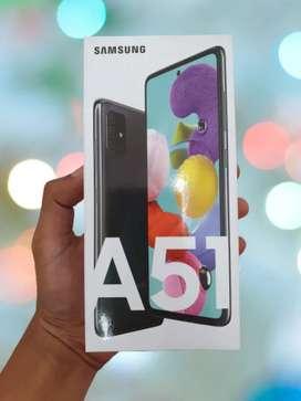 Samsung a51 ram 6 / 8 garansi resmi sein 1th