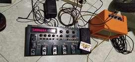 Efek gitar zoom gfx-8 made in japan