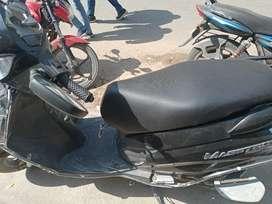 Hero maestro with alloy wheels zed black