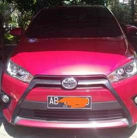 Toyota Yaris G A/T 2016 kilometer rendah