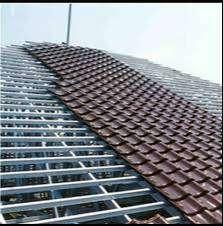 Pasang atap baja ringan dengan CICILAN bunga 0% kualitas terjamin No