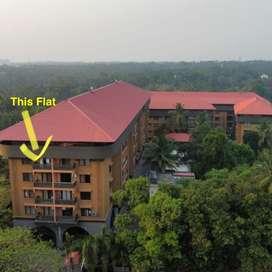 Semi furnished  3 bed room flat Udupi