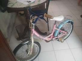 Sepeda anak merk wimcycle ukuran18