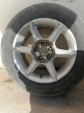 """Alloy rims 15"""". 4/5 nuts. Multi PCD. Best for toyota."""