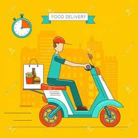 Food delivery boy in Bidar