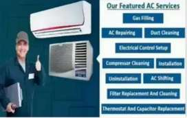 All types of Ac air conditions installation service repairs sales