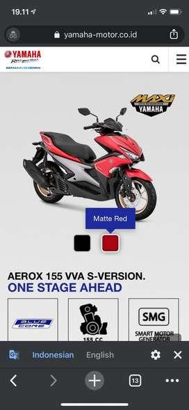 Yamaha aerox type S ABS 2019