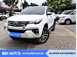 [OLX Autos] Toyota Fortuner 2017 2.4 VRZ 4X2 AT Putih #Allison
