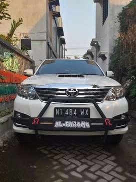 Toyota Fortuner vnt Turbo Desel 2013 Plat Nomor Cantik