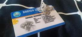 Cincin berlian Eropa ikat emas
