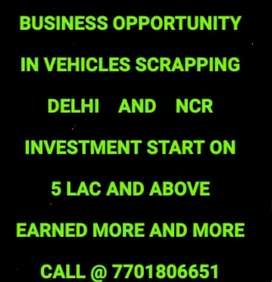 BUSINESS OPPORTUINTY IN SCRAPPING