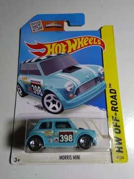hotwheels paket 5 pcs morris mini