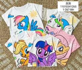 Kaos anak Cewek untuk usia 1-2  tahun