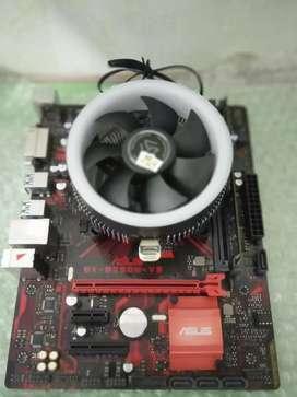 Paket mobo Asus ex B250M V3 + i5 7400